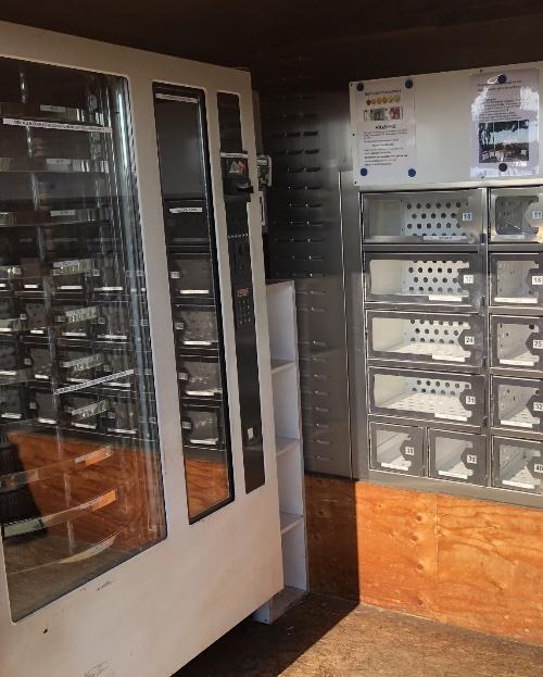 Leeggehamsterde automaten